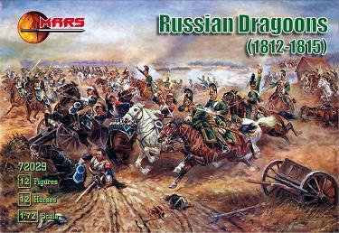 72029 - Russian Dragoons 1/72