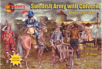 72031 - Thirty Years War Swedish Army with Culverin 1/72
