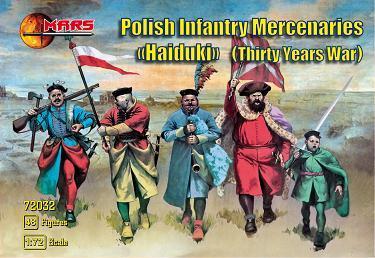 72033 - Polish Infantry Mercenaries (Haiduks) 1/72