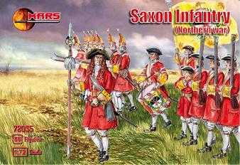72035 - Thirty Years War Saxon Infantry 1/72