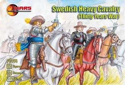 72036 - Thirty Years War Swedish Heavy Cavalry 1/72