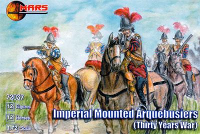72037 - Thirty Years War Imperial Mounted Arquebusiers 1/72