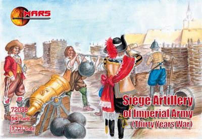72038 - Thirty Years War Imperial Siege Artillery 1/72