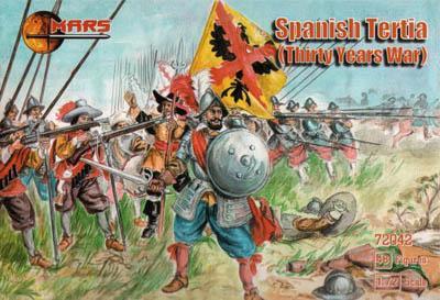 72042 - Thirty Years War Spanish Tertio 1/72