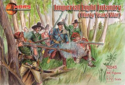 72043 - Thirty Years War Imperial Light Infantry 1/72
