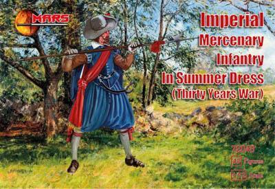 72048 - Imperial Mercenary Infantry in Summer Dress 1/72