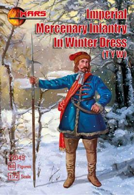 72049 - Imperial Mercenary Infantry in Winter Dress 1/72