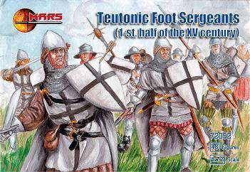 72052 - Teutonic Foot Sergeants 1/72