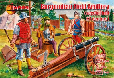 72067 - Burgundian Field Artillery (second half of XV century) 1/72