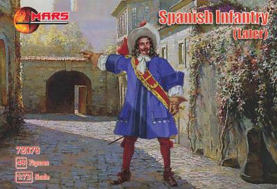 72076 - Spanish Infantry (Later) 1/72