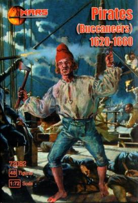 72082 - Buccaneer (Pirates) 1620-1670 1/72