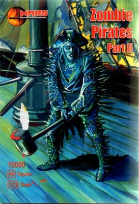 72090 - Zombies Pirates 1/72