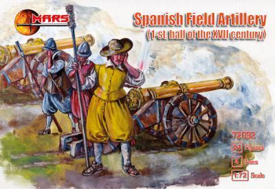 72092 - Spanish Field Artillery XVII century 1/72