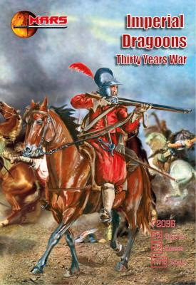 72096 - 	Imperial Dragoons Thirty Years' War 1/72