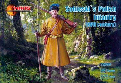 72099 - Sobieski's Polish Infantry XVII century 1/72