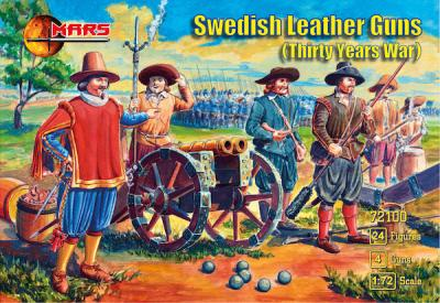 72100 - Swedish Leather guns (Thirty Years War) 1/72