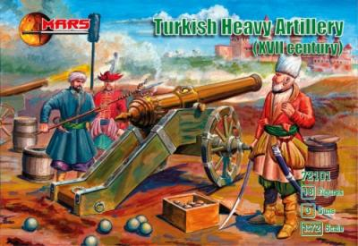72101 - Turkish Heavy Artillery XVII century 1/72