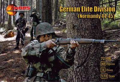 72106 - German Elite Division (Normandy 44-45) WWII 1/72