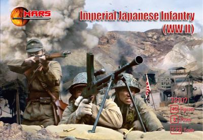 72107 - Imperial Japanese Infantry WWII 1/72