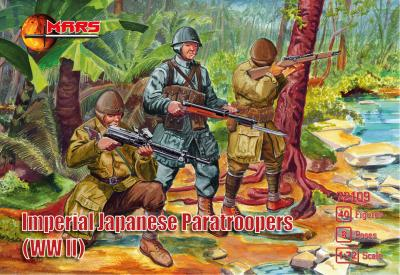 72109 - Imperial Japanese paratroopers WWII 1/72