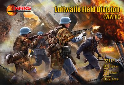 72110 - Luftwaffe Field Division infantry WWII 1/72