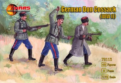 72113 - German Don Cossack WWII 1/72