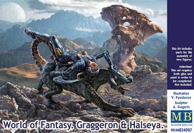 24007 - World of Fantasy - Graggeron & Halseya