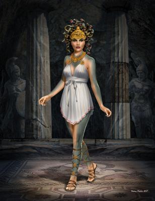 24025 - Ancient Greek Myths Series Medusa