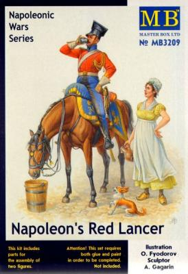 3209 - Napoleons Red Lancer Napoleonic Wars