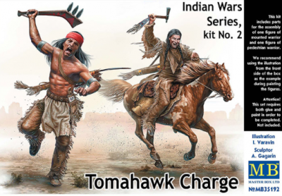 35192 - Indian Wars Series Tomahawk Charge