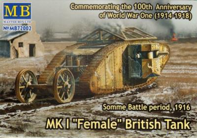 72002 - Mk.I Female British Tank. Somme 1916 1/72