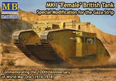 72004 - Mk.II British Tank 'Male' 1/72