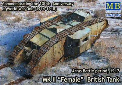 72006 - 	Mk.II Female British Tank 1/72