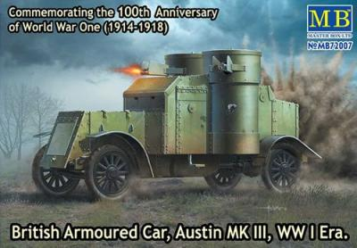 72007 - British Armoured Car, Austin MK III WW1 1/72