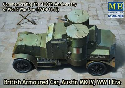 72008 - British Armoured Car, Austin MK III WW1 1/72
