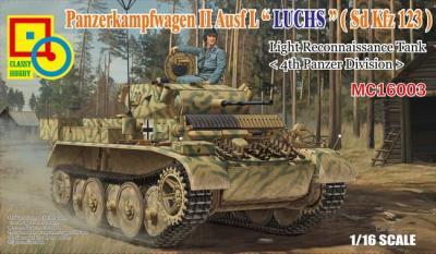 16003 - Panzerkampfwagen II Ausf.L