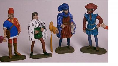 MCMA02 Hérauts d'Armes (4 figures) 1/72