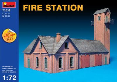 72032 - Fire Station (European) 1/72