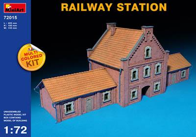72015 - Railway Station 1/72