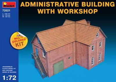 72021 - Administrative Building with Workshop 1/72
