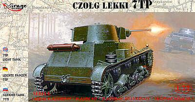 72601 - Polish 7TP light tank with one turret 1/72