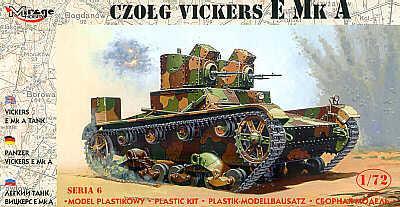 72603 - Vickers E Mk.A 1/72