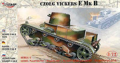 72604 - Vickers E Mk.B 1/72