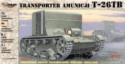 72607 - Russian T-26TB ammunition carrier 1/72