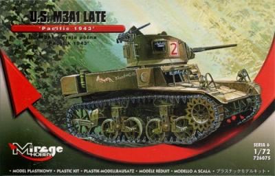726075 - M3A1 Light Tank late - Pacific 1943 1/72