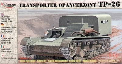 72608 - TP-26 armoured personnel carrier 1/72