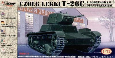 72613 - Russian T-26C Aplique armour 1/72