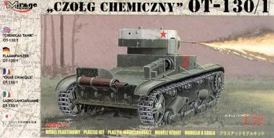 72614 - Russian OT-130/1 chemical tank 1/72