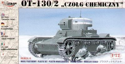 72615 - Russian OT-130/2 Chemical tank 1/72