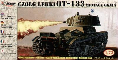 72616 - Russian OT-133 flame thrower tank 1/72